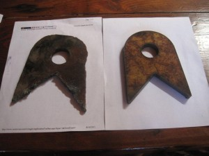 Plasma Cut Brackets
