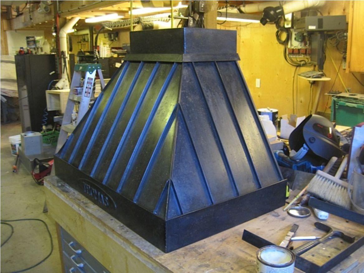 Custom Steel Range Hood