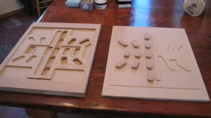 carving a press mould