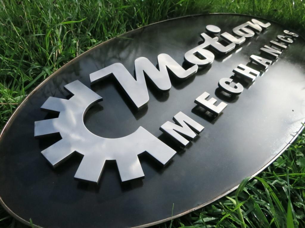 3D Metal Sign