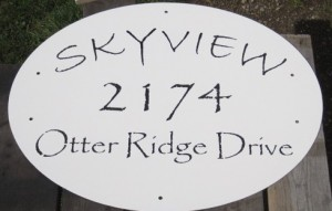 Metal Sign Painted