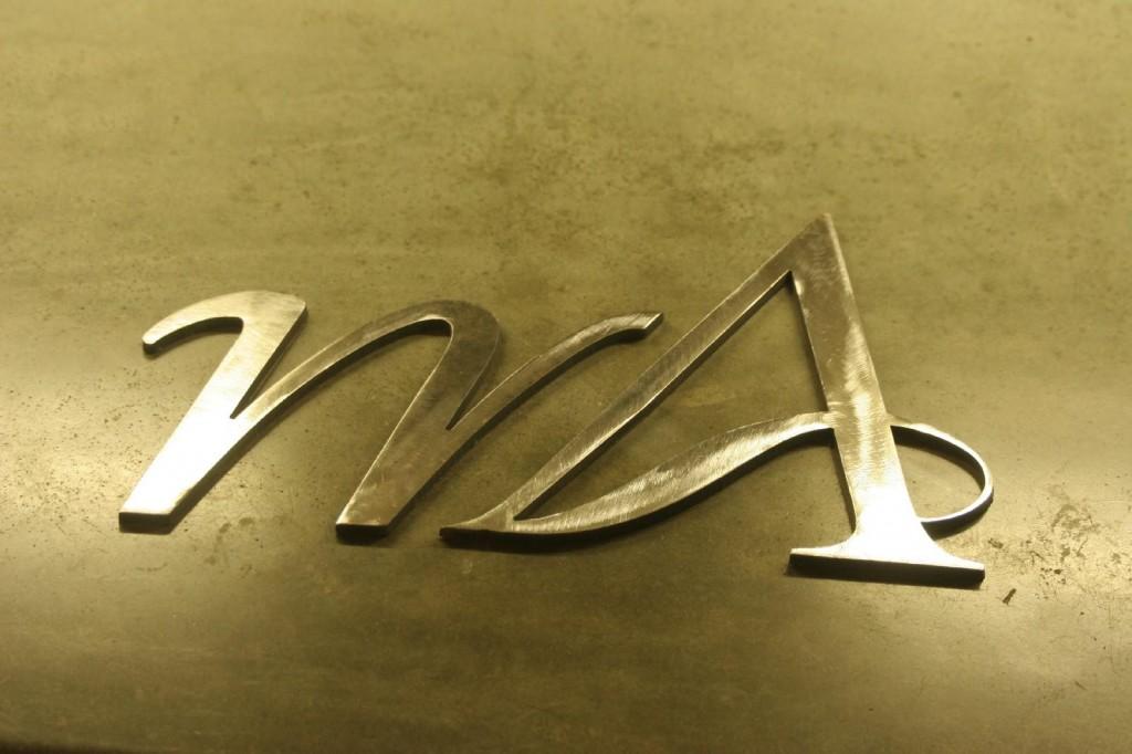 Metal Monogram